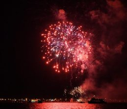 July 4 Fireworks in Munising