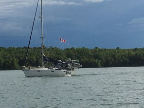July 8 Rendezvous with Steele'n Time in Batchawana Bay