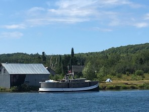 July 18 Fishing tug in Quebec Harbour