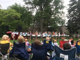 July 26 The Petosky Steel Drum Band playing at the Soo