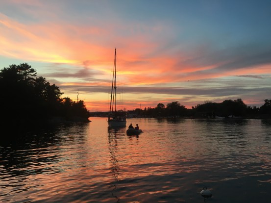 September 5 Killarney Sunset - North Channel Lake Huron