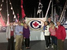 October 8 Gozzard owners at the Annapolis Boat Show