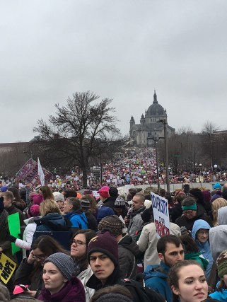 January 21 The Women's March in St Paul