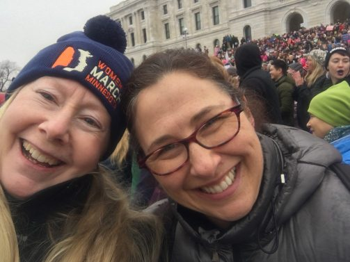 January 21 Women's March with Nancy
