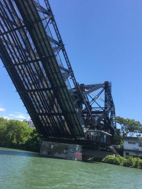 July 9 Bascule Bridge along the Black Rock Canal