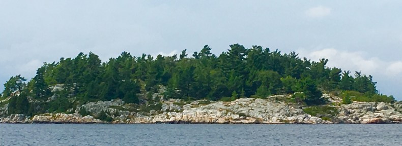 August 11 Heading to Croker past Bedford Island - North Channel