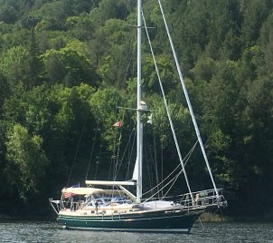 August 24 Gaviidae anchored in The Pool - Baie Finn