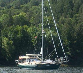 August 24 Gaviidae anchored in The Pool - Baie Finn