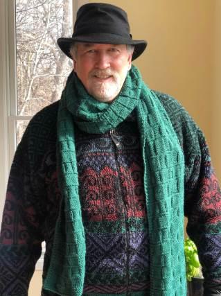 Mar 3 Dan wanted a scarf, a really long scarf!