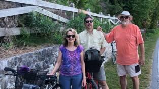 July 3 Bike riders on Mackinac