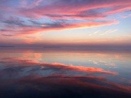 July 13 Sunset on the way to Batchawana Bay