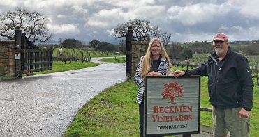 Feb 3 At Beckman Vineyards