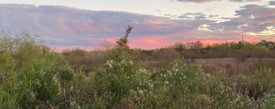 Dec 27 Tucson sunset