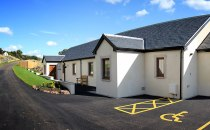 New Cottages and Car Park