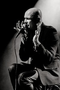 Photos: Gavin Friday, SoundEdit, Lodz, Poland 2012