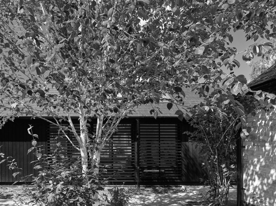 Black carbon barn