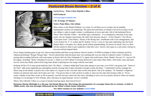 GP REVIEW - BLUES BLAST ONLINE MAG - 180620