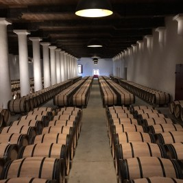 One of the barrel cellars.