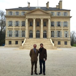 Paul with his son Thibault in March 2015.