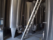 The wine was vinified - the first fermentation - in stainless steel