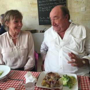 Chez Mémé, recce trip with Fiona.