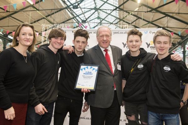 Bangor Academy set record straight with Young Enterprise Award!