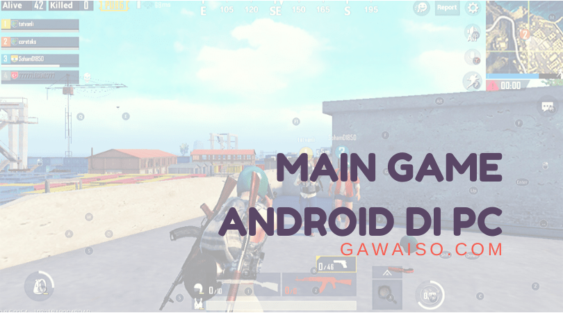 cara main game android di laptop featured