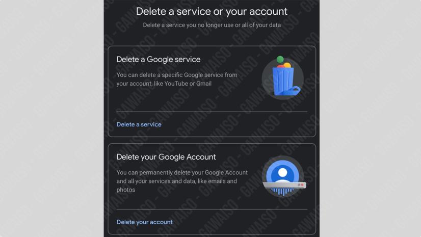 delete akun gmail di hp permanen