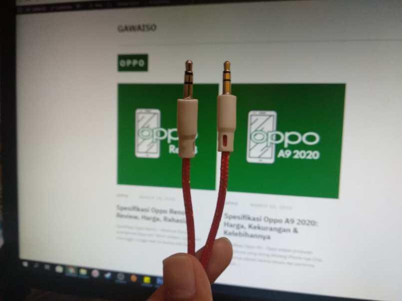 cara menghubungkan audio android ke pc