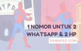 cara 1 nomor 2 whatsapp featured