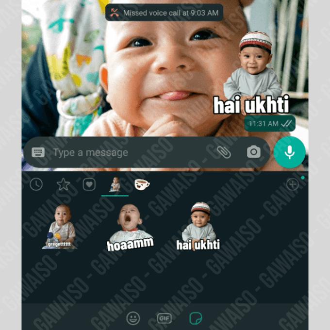 cara menambahkan stiker whatsapp - cek di wa stiker
