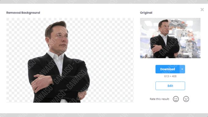 cara menghapus background foto - cara online