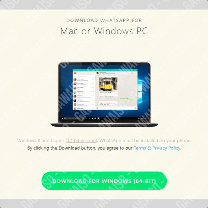 cara download whatsapp di laptop