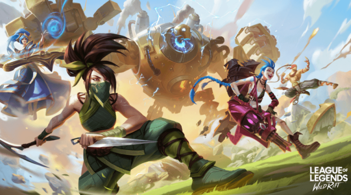 game moba android league of legends wild rift