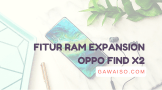 fitur ram expansion di oppo find x2