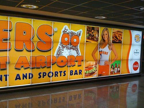 Hooters Frankfurt Airport, Germany