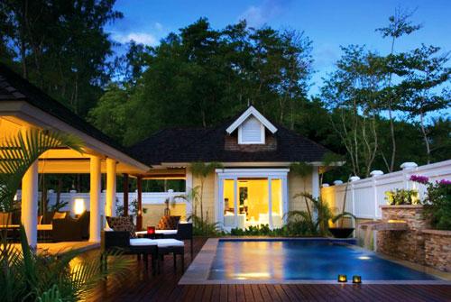 Seychelles Islands Accommodation: Banyan Tree Seychelles