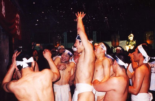 Hillarious Festivals - Naked Men Festival, Japan