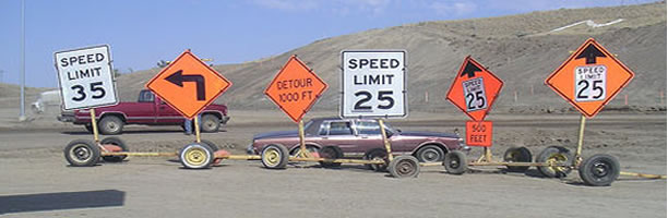 Funny Signs: Driving Instruction Signs, USA