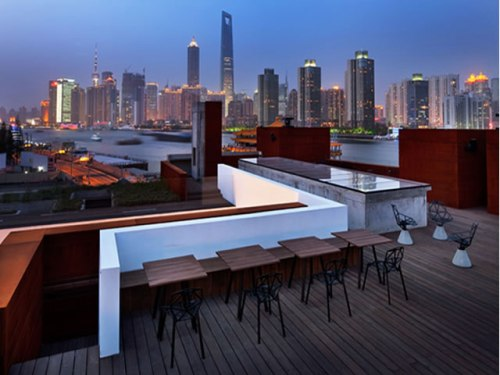 The Waterhouse at South Bend Roof top, Shanghai, China
