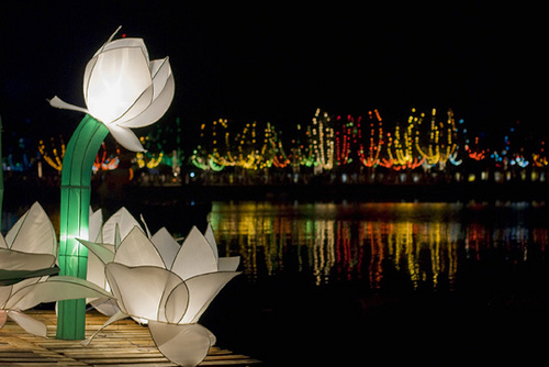 Lotus-Shaped Vesak Lantern