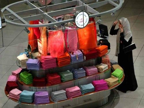 Boutique Scarf Kiosk
