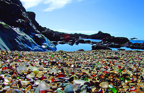 Glass Beach Fort Bragg CA