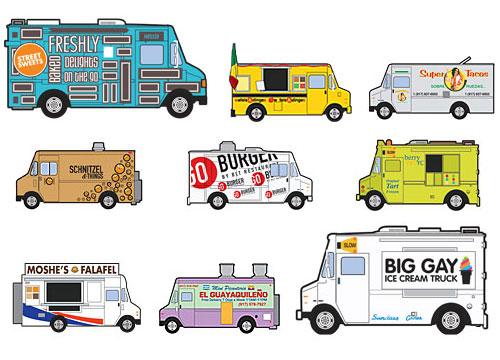 Food Trucks in USA