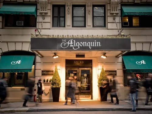 Hotels In NYC: The Algonquin Hotel New York