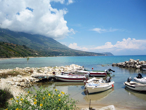 Greek Island of Kefalonia