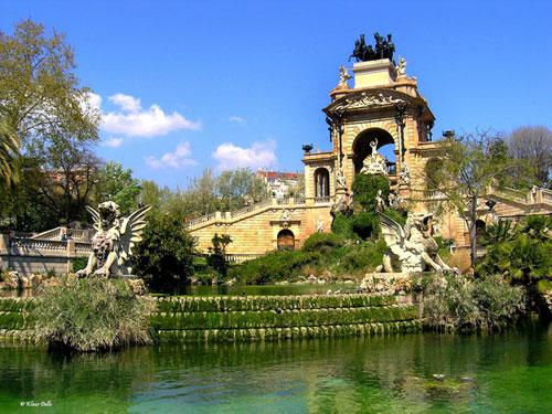 Spring Time In Barcelona, Spain