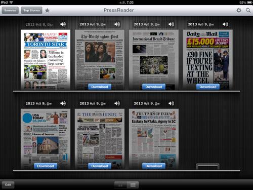 PressReader: iPad News App