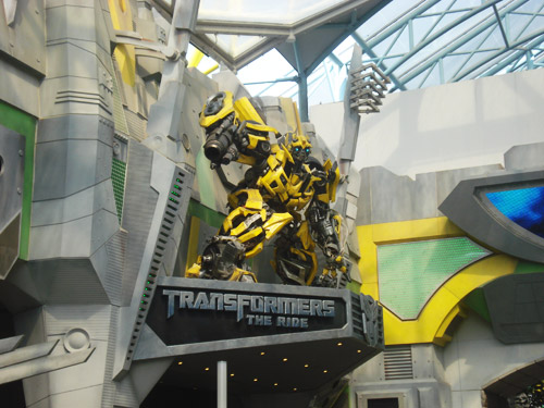 TRANSFORMERS: The Ride at Universal Studios Singapore