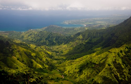 Kilohana Overlook of Hanalei Bay - Kauai